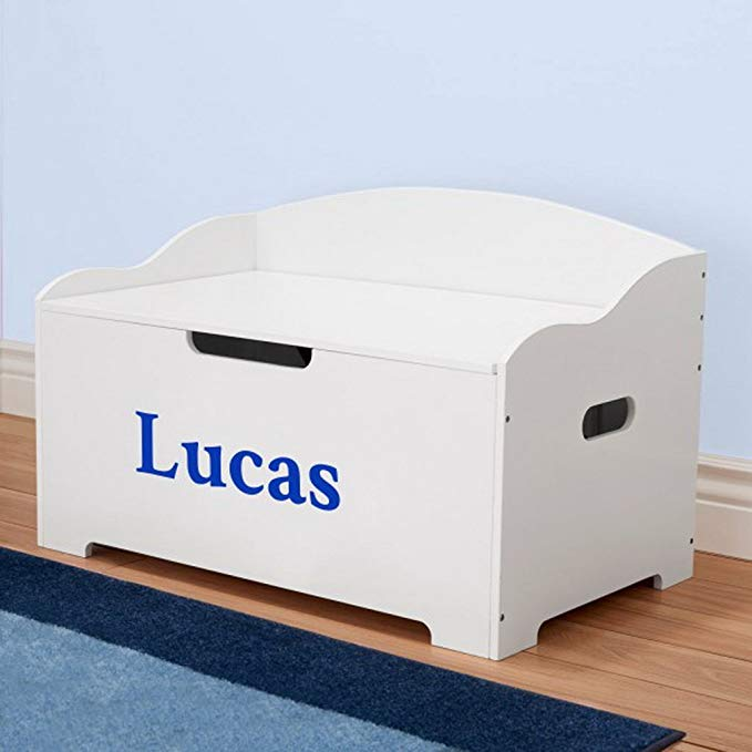 DIBSIES Personalization Station Modern Expressions Toy Box - White (Signature Series Boys)