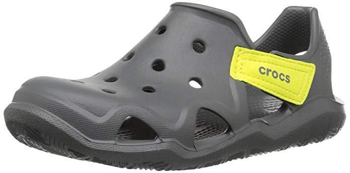 Crocs Kids' Boys & Girls Swiftwater Wave Water Sandal