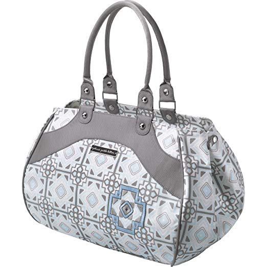 Petunia Pickle Bottom Wistful Weekender Diaper Bag in Sleepy Seychelles